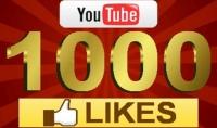 1000 لايك يوتوب