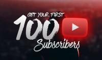 100 مشترك حقيقي لقناتك على YouTube