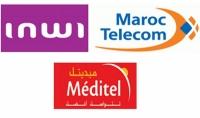للمغاربة شحن رصيد الهاتف  iam  meditel  inwi