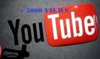 جلب 2000 مشاهدة للزوار حقيقين على youtube