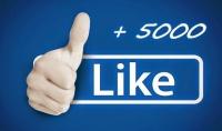 سوف أقوم بجلب 5000 لايك لاي بوست في الفيسبوك تختاره