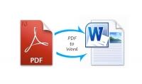 تحويل ملف pdf الى ملف وورد يحوي100 صفحة