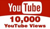 10000 مشاهدة يوتيوب امنة وسريعة فقط ب 5 دولار