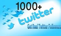 اضافة 1000 متابع على تويتر