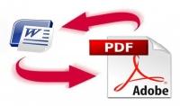 تحويل ملفات PDF الى WORD و العكس