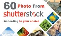 60 صورة من موقع shutterstock مقابل 5$ على حسب إختيارك