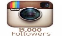 إضافة 15000 متابع على الانستغرام