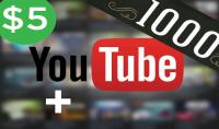 زيادة 1000 مشترك في قناتك على اليوتوب