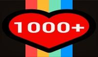1000 متابع للانستقرام مع ضمان 15 يوم من تاريخ الاستلام