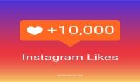 10000 لايك و 10000 مشاهده على حسابك في الانستغرام