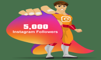 إظافة 5000 متابع على حسابك في انستغرام