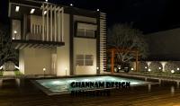 تصميمات هندسية بواسطة 3D max