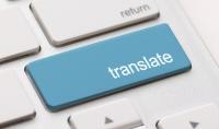 ترجمة النصوص من العربية إلى الفرنسية  الإنجليزية أو العكس.