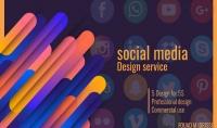 5 تصاميم خاصة بمواقع التواصل الاجتماعي ب5 دولار فقط