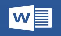 ادخال البيانات Word