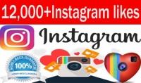 سأجلب لك 12 ألف لايك على صورتك على instagram و عشرين متابع على اليوتوب