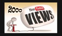 2000مشاهدة حقيقةوآمنه لاى فيديو يوتيوب فقط بـ5$