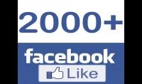 سوف أقوم بإضافة 2000 لايك لصفحتك علي الفيس بوك العرض مازال متوفر بسعر مغري جدا