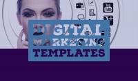 قوالب تساعدك في مجال التسويق الرقمي و التواصل الاجتماعي