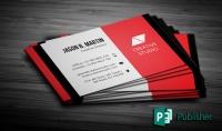 اصمم لك بطاقة اعمال carte visite احترافية فقط ب 5 دولار