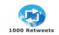 1000 اعادة التغريد جودة عالية ✨
