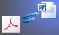 طباعة تفريغ كتابة يدوية لملفات pdf إلى word