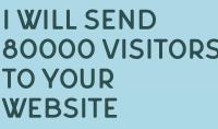 سوف ارسل لك 80000 زائر لموقعك