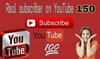 اضافة 150 متابع حقيقي لقناتك علـّۓ. اليوتيوب
