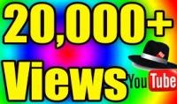اضافة 20000 مشاهدة على اليوتيوب من اجل ربح المزيد من المال