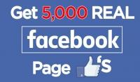 استقبال 5000 متابع في في صفحتك على فيسبوك