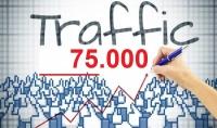 75.000 زائر اجنبي حقيقي وامن لموقعك او مدونتك من جميع انحاء العالم ب5 دولار فقط