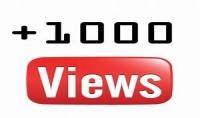 إضافة 1000 مشاهدة لأي فيديو على اليوتيوب