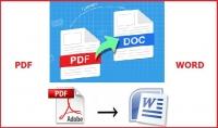 تفريغ سريع لمفات pdf والصور لل 50word صفحة 150كلمة للصفحة