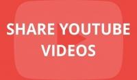 1000 مشاركة للفيديو YouTube Share