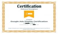 دليلك للحصول على شهادة معتمدة Google Ads Display Certificate