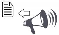 تفريغ نصوص من ملف صوتي والكتابة في ملف word أو pdf.