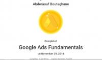 ملف يساعدك في اجتياز Google Ads fundamentals Exam