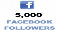 5000 متابع في صفحتك على الفايسبوك ساااارع