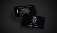 تصميم بطاقات اعمال باحترافية عالية باللوجو اذا احببت في اقل من يوم