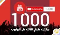 اضافة 800 مشترك لقناتك في يوتيوب