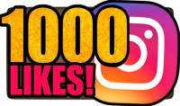 إضافة 1000 لايك إنستغرام مع إمكانية تقسيمهم لأكثر من صورة