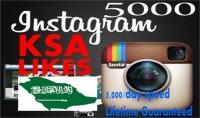 5000 لايك سعودى حقيقي على صور فى انستجرام