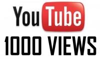تزويدك ب ١٠٠٠مشاهد حقيقي على اليوتيوب مقابل ٥ دولار
