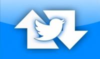 الرتويت و اضافة 40 حساب تويتر