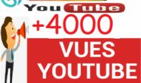 ساجلب لك 4000 مشاهدة عبر اليوتيوب مقابل 10 دولار فقط الخدمة مضمونة 100%