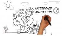 أصمم لك اعلان او شرح بتقنية whiteboard animation