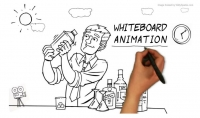 أصمم لك اعلان او شرح بتقنية whiteboard animation
