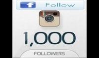 ساقوم باضافة 10000 متابع على الفايس بوك و10000 متابع على حساب الانستغرام ب25 دولارفقط