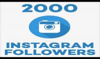إضافة 2000 متابع حقيقي و متفاعل لحسابك في الانستغرام