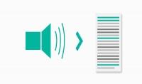 تحويل اي ملف صوتي الى كتابي ومن كتابي الى صوتي بجودة عالية وتنظيم
